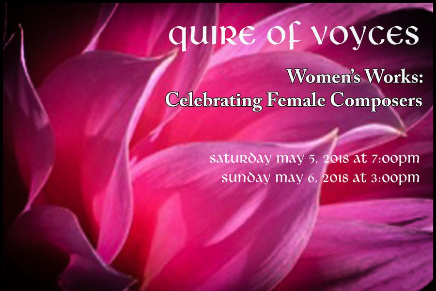 Quire of Voyces to honor female composers at St. Anthony's