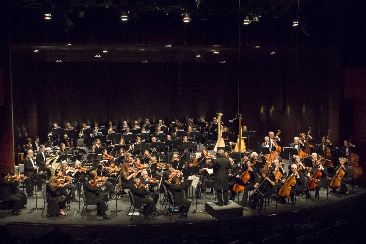 "The City College Symphony ends its Spring season with an  orchestra performance of Gustav Holst's ""The Planets,"" on Sunday, May 6, at the Garvin Theatre. Professor James Mooy conducted the symphony."
