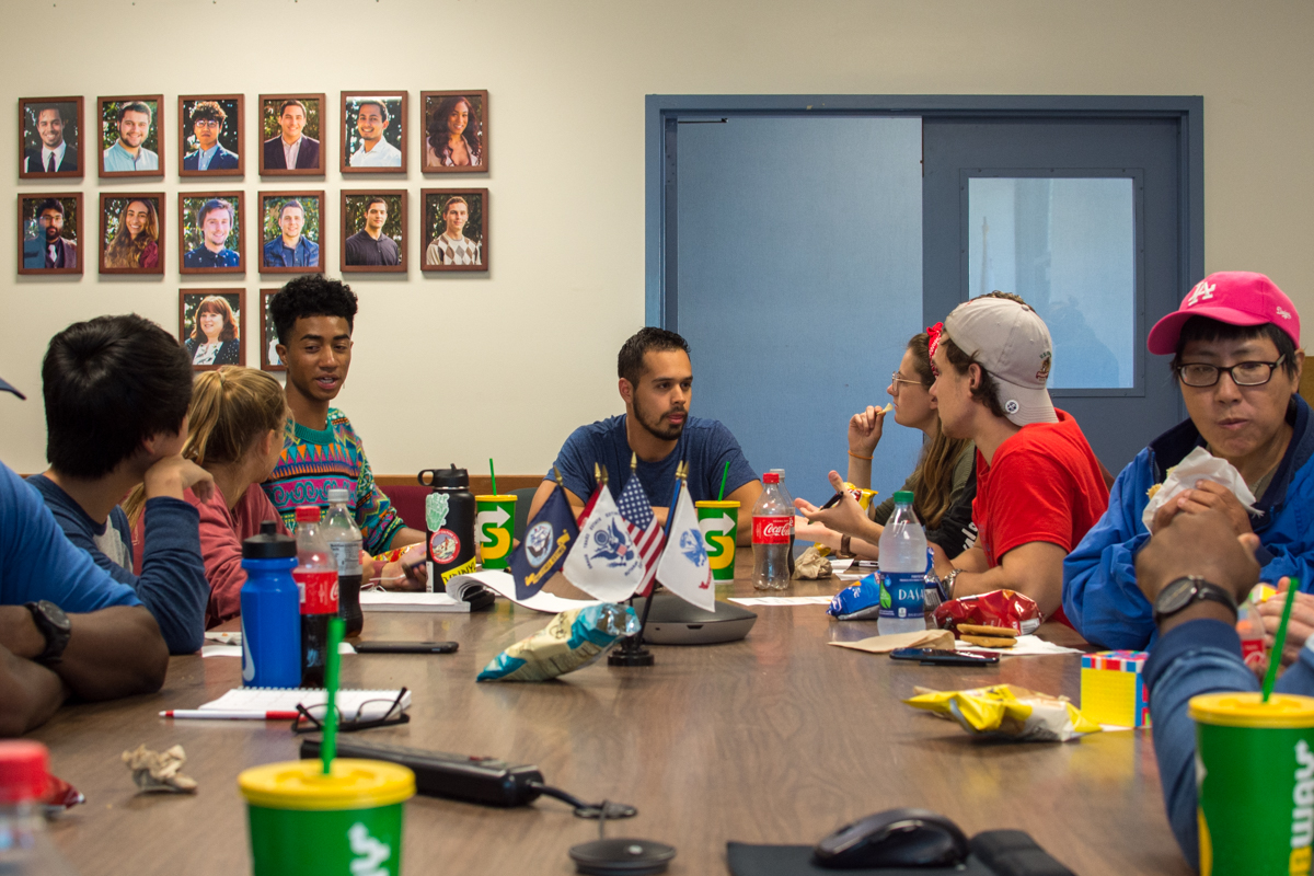 "The Associated Student Government held a ""Meet and Eat with your Reps"" event at the student senate room at City College in Santa Barbara, Calif., on Tuesday, Sept. 25. The event was held to get to know students on campus and for them to be involved."