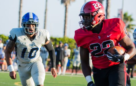 SBCC Football loses home opener to San Bernardino Valley