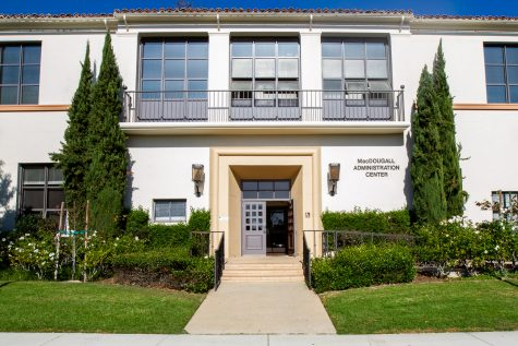 The Administration Building at City College on Thursday, Oct. 25, in Santa Barbara, Calif.