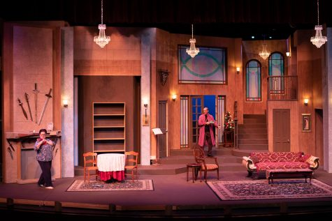 SBCC's Garvin Theatre to debut comic murder mystery in castle