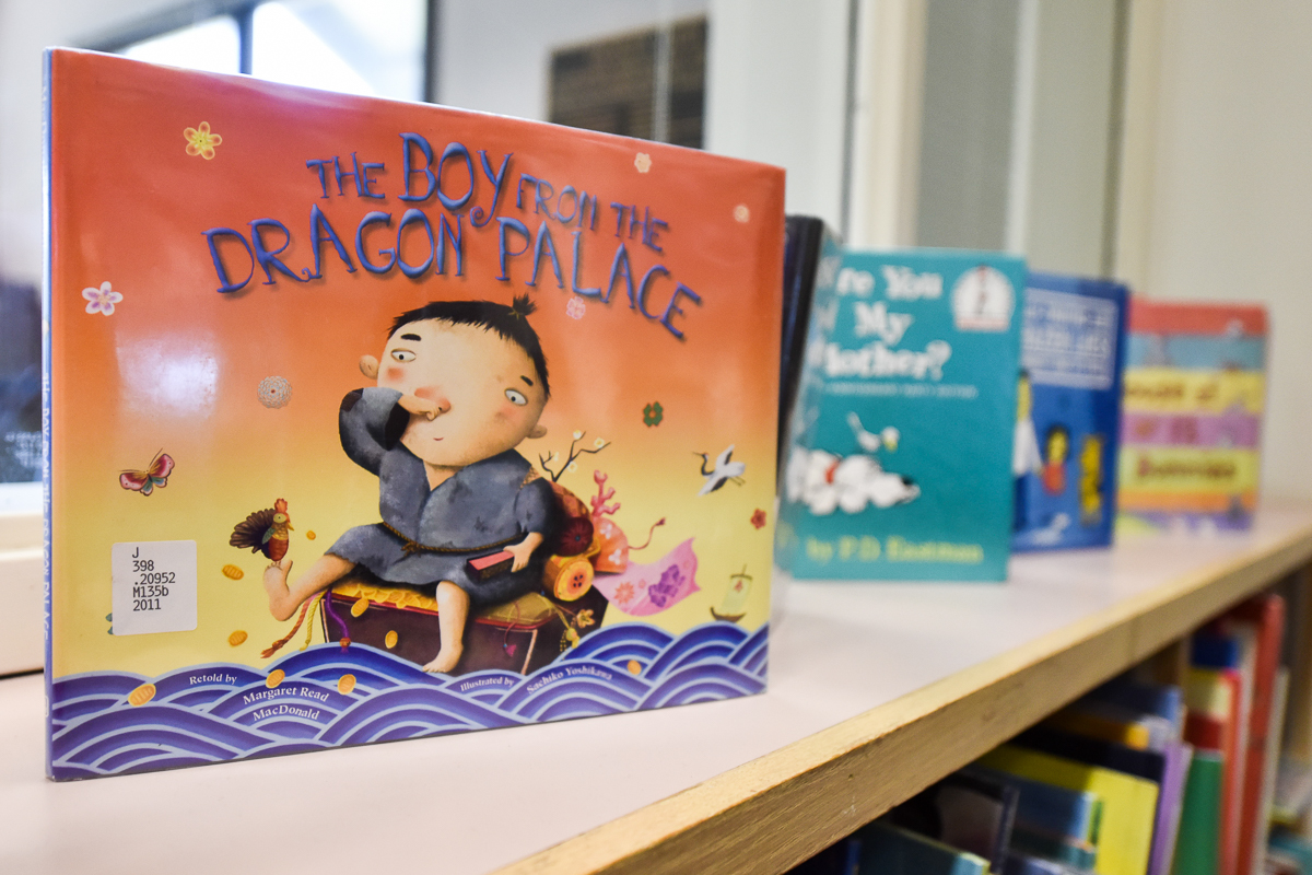 Luria Library has kids books and toys that are readily available to children, three months and older, of City College students. The library has been providing these resources for years but are now making a greater effort to inform students as of Fall 2018.