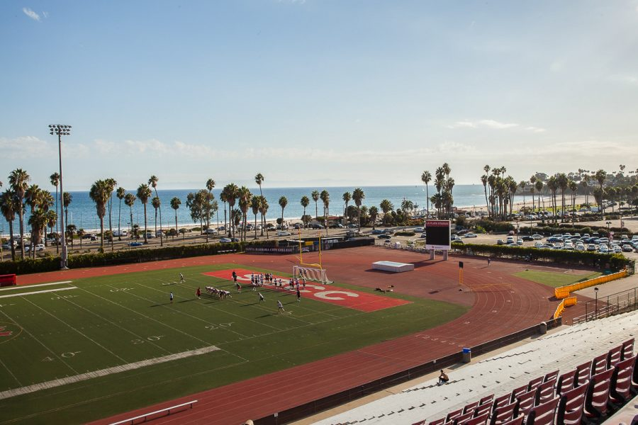 File Photo of La Playa Stadium from Oct. 2018