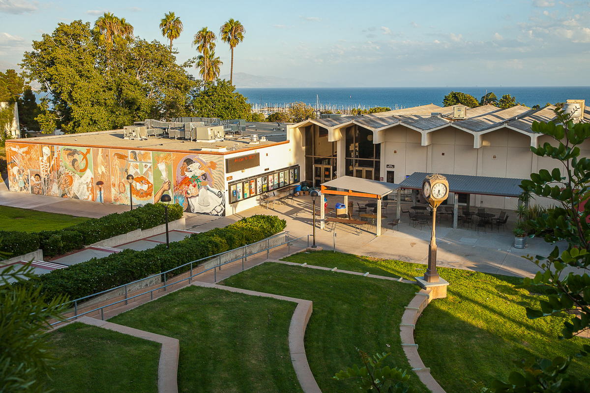 The Friendship Plaza at City College on Friday, Oct. 12, 2018, in Santa Barbara, Calif.
