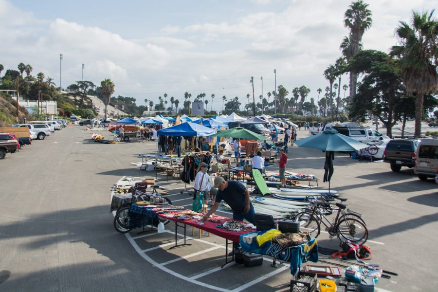 The+Surf+Fest+and+Swap+Meet+fundraiser+held+on+Saturday%2C+Oct.+13%2C+2018%2C+in+the+lower+parking+lot+at+City+College+in+Santa+Barbara%2C+Calif.