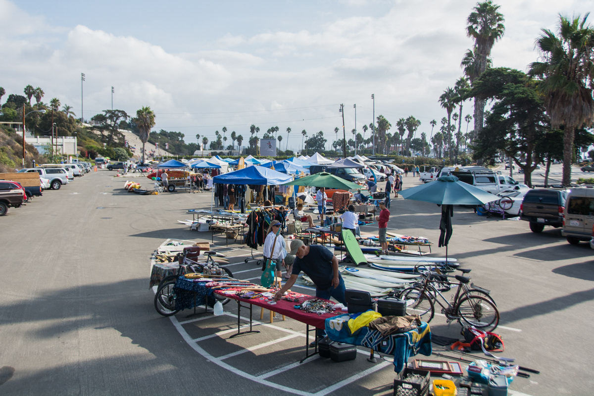 The Surf Fest and Swap Meet fundraiser held on Saturday, Oct. 13, 2018, in the lower parking lot at City College in Santa Barbara, Calif.