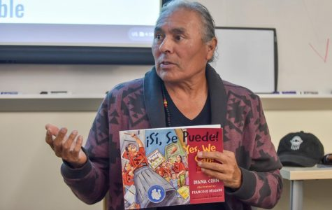 Chumash Native, activist on the injustices of indigenous people