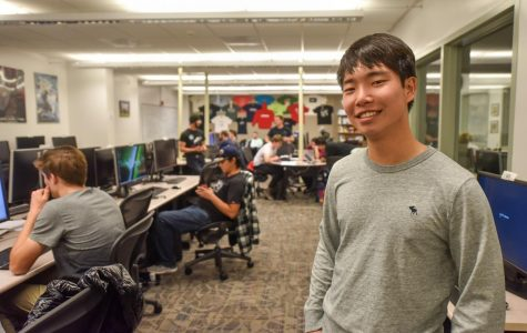 First semester student becomes Computer Science Club President and Student Senate Secretary