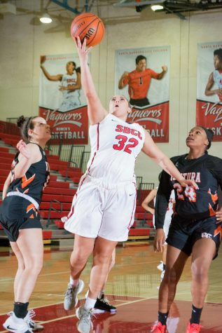 SBCC Women's Basketball team falls short to Ventura