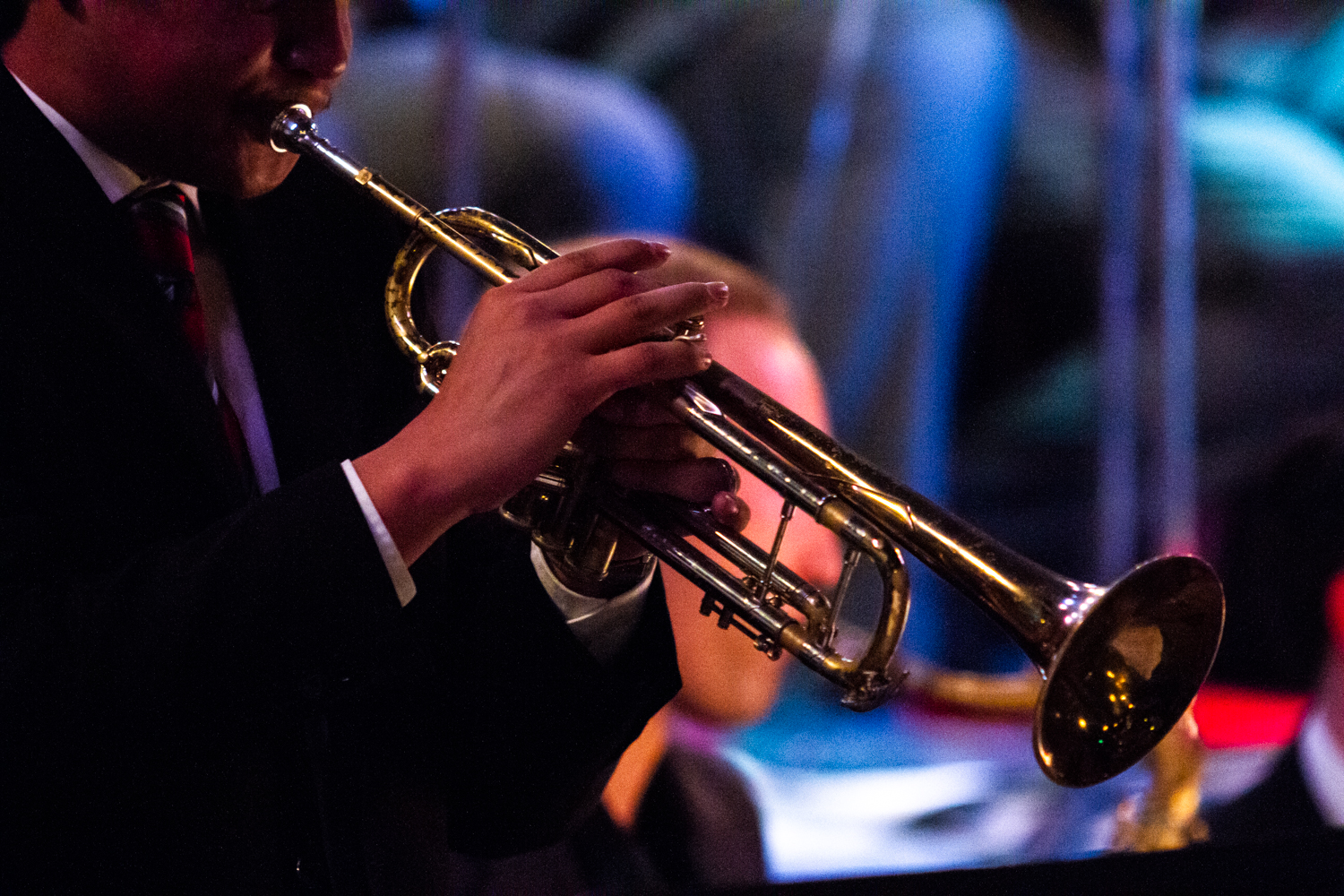 "City College's Lunchbreak Jazz Band performs on Monday, March 18, 2019, at the Soho Restaurant & Music Club in Santa Barbara, Calif. The band performed five pieces, ""Blue Daniel"", ""You Go To My Head"", ""Mornin' Reverend"", ""La Fiesta"", and ""Who Me?""."