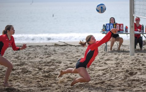 SBCC women's beach volleyball team defeated in first ever match