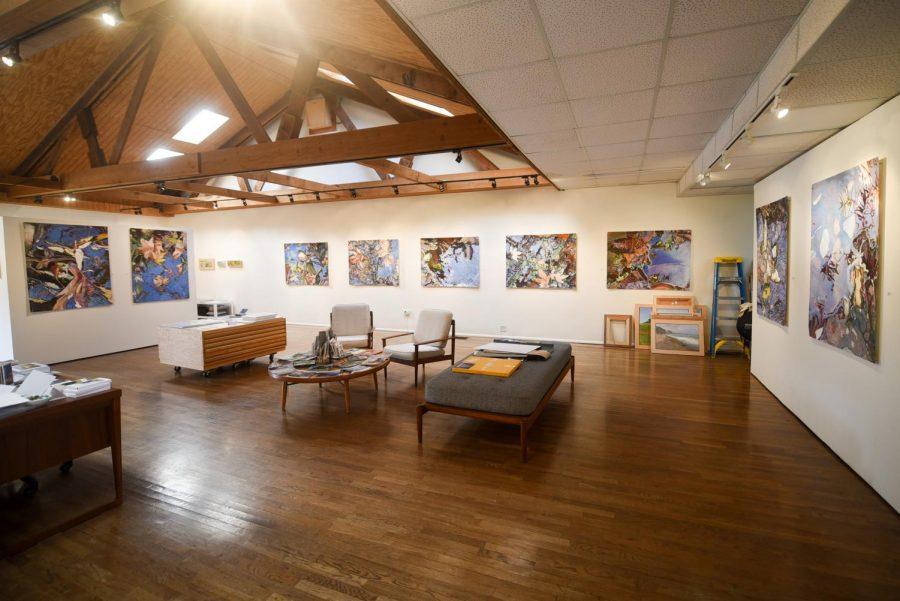 "Pamela Zwehl-Burke's art exhibit ""Crossing"" is open until March 10, at the Marcia Burtt Galary in Santa Barbara, Calif."