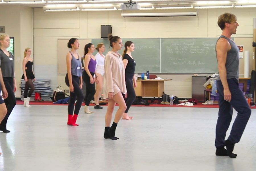 SBCC Dance Company prepares for new year following auditions