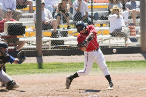 SBCC baseball player leads team in hits and batting averages