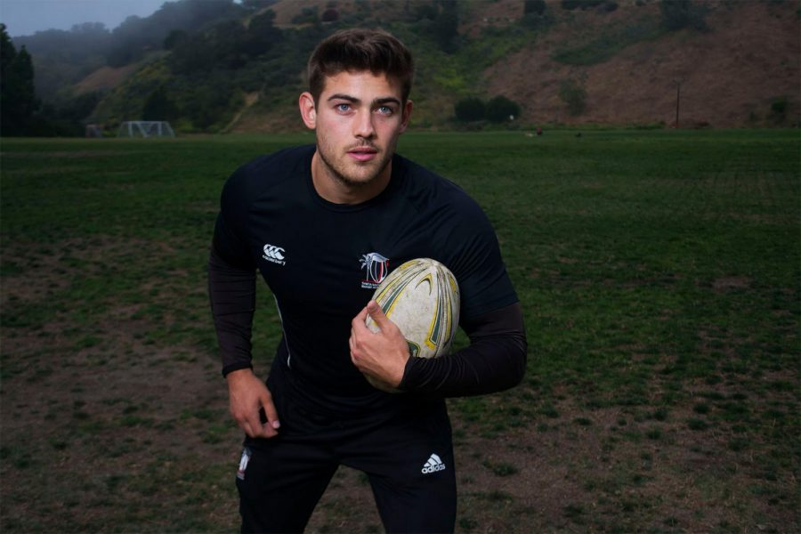 Vaqueros rugby player Chris Noggle poses before practice at 7 p.m. on Thursday, April 24, 2019, at Elings Park in Santa Barbara, Calif.