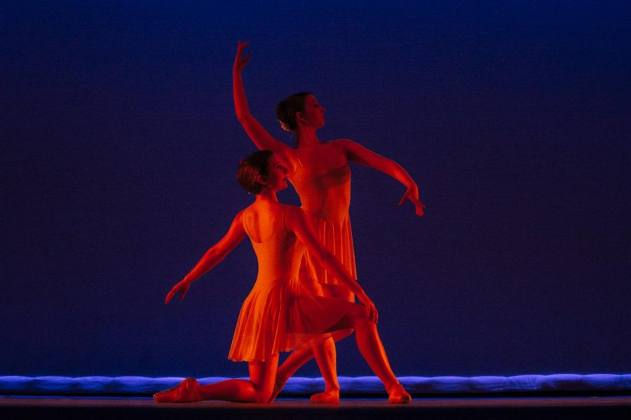 "Dancers from the Santa Barbara Festival Ballet preform a piece called ""For the Love of Henry"" during the SBCC Dance Company's Dance Collective on Friday, April 12, 2019, in the Garvin Theatre at City College in Santa Barbara, Calif."