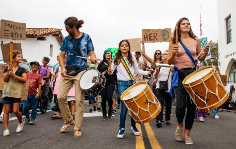 Community marches for climate action, students lead movement
