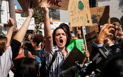 Student protesters march for action against climate change