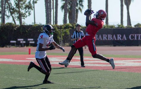 SBCC wins first conference game with 35-16 victory over LA Pierce