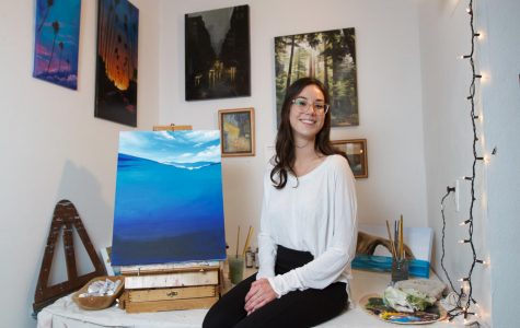 SBCC painter highlights nature, local environment through art