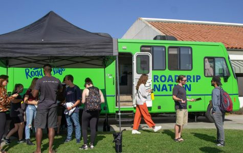 Roadtrip Nation, a career exploration group that travels the country, visited City College to help provide direction to students who are unsure of their career path on Thursday, Oct. 10, 2019, at City College in Santa Barbara, Calif. The event was put on by the career center at City College.