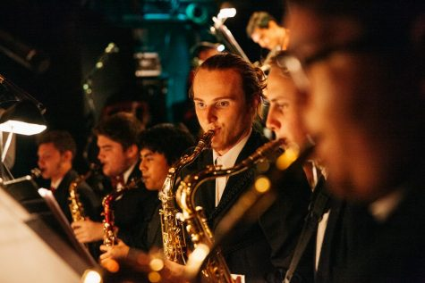 City College jazz band honors late director at SOhO House