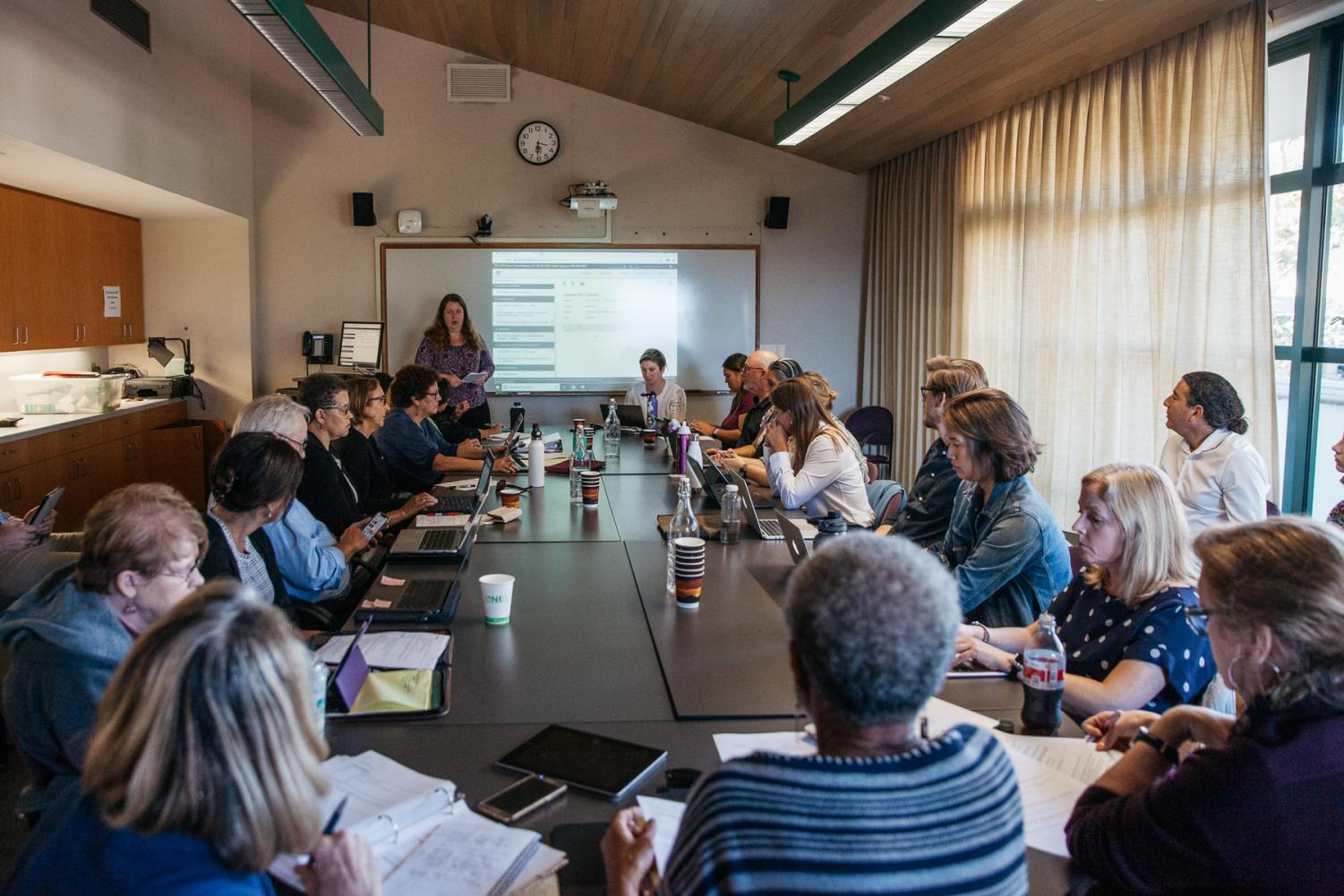 CPC meeting on Tuesday Oct. 15, 2019, in the Business Communication Center at City College in Santa Barbara, Calif.