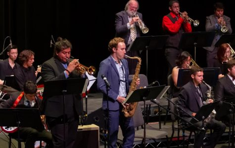 Months of practice illuminated in final jazz ensemble performance