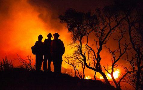 Santa Barbara Cave Fire sparks evacuations, road closures