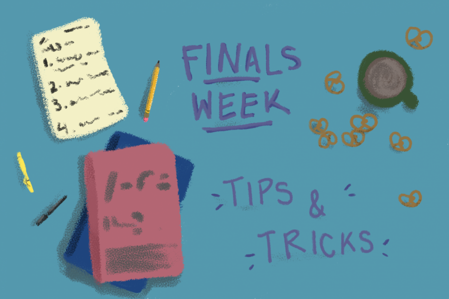 Final frontier: Healthy habits to practice while studying for finals