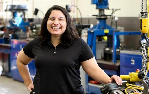 New teacher steers automotive department into new direction