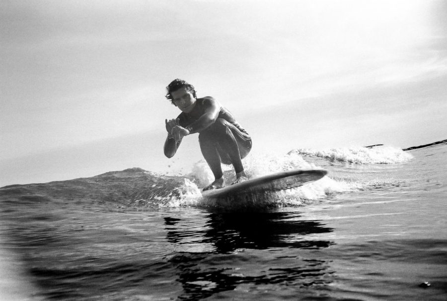 Surfer+and+surf+photographer+Luke+Williams+rides+a+wave+at+Leadbetter+Beach+on+Wednesday%2C+Feb.+26+in+Santa+Barbara%2C+Calif.+%E2%80%9CIt+feels+good+to+just+get+wet+and+float+around%2C%E2%80%9D+Williams+said.+%E2%80%9CEven+when+the+waves+are+this+small.%E2%80%9D