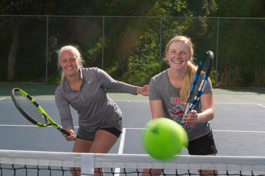 From Izegem to SB: How the Buyse twins led SBCC tennis to victory