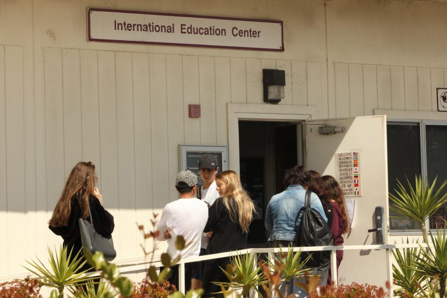 City College's international students have been leaving the country rapidly as fear surrounding the COVID-19 pandemic continues to escalate on March 20, 2020, in Santa Barbara, Calif.