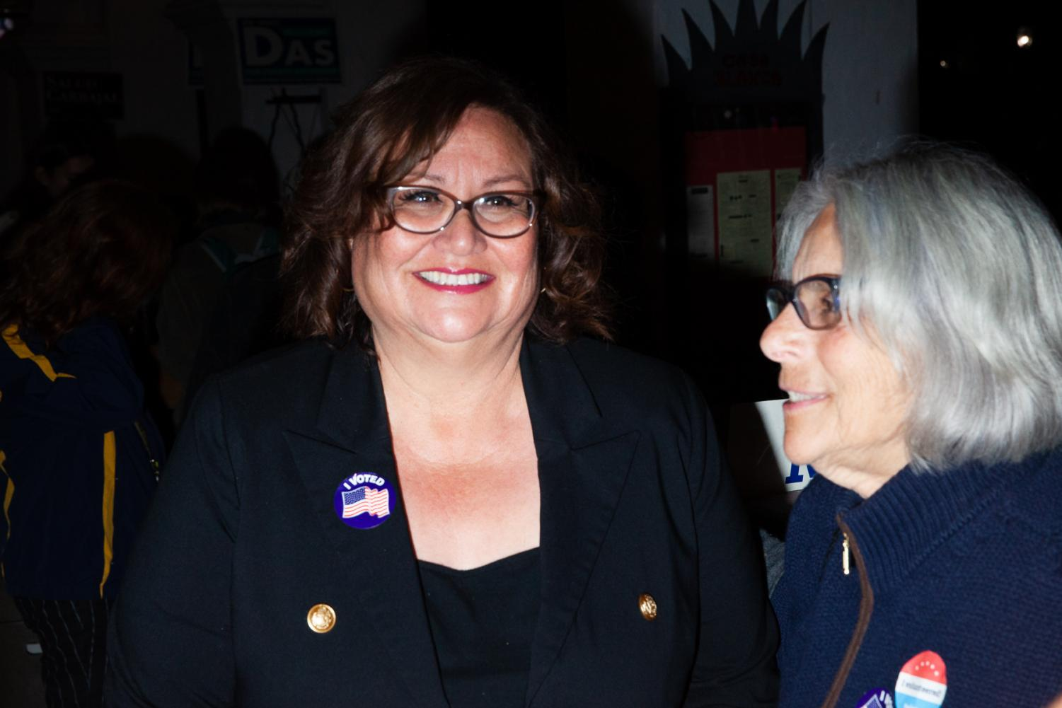 Mayor and District 37 candidate to the California State Assembly election Cathy Murillo currently sits in second place behind Charles Cole by more than four thousand on Tuesday, March 3, 2020 at Casa Blanca in Downtown Santa Barbara, Calif.