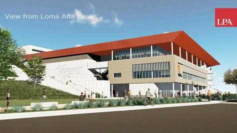 Rendering of the new Physical Education building provided by LPA Design Studios.