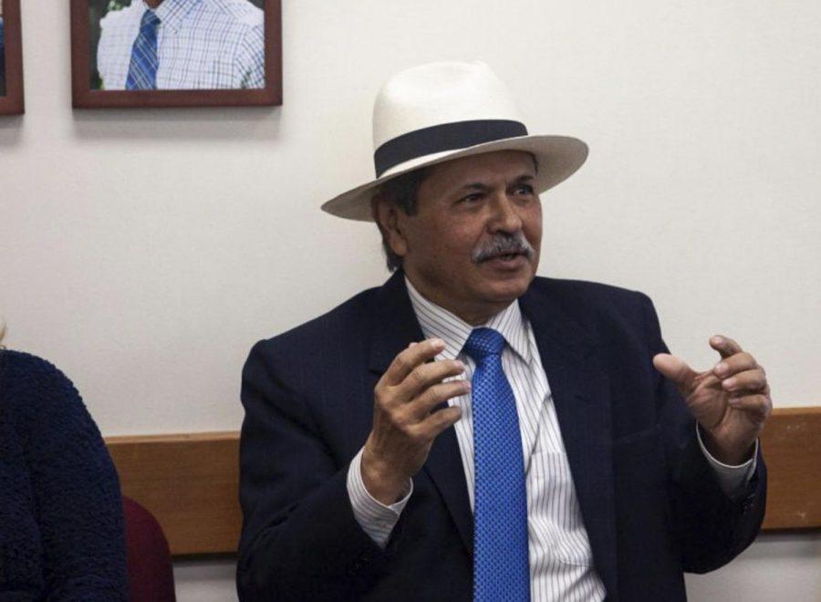File Photo of Superintendent-President Utpal Goswami from Jan. 31, 2020.