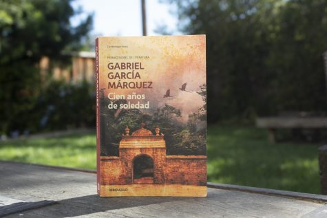 "Photo of Gabriel Garcia Marquez's book translated from spanish to english as ""One Hundred Years"" on Oct. 4 in Palo Alto, Calif."