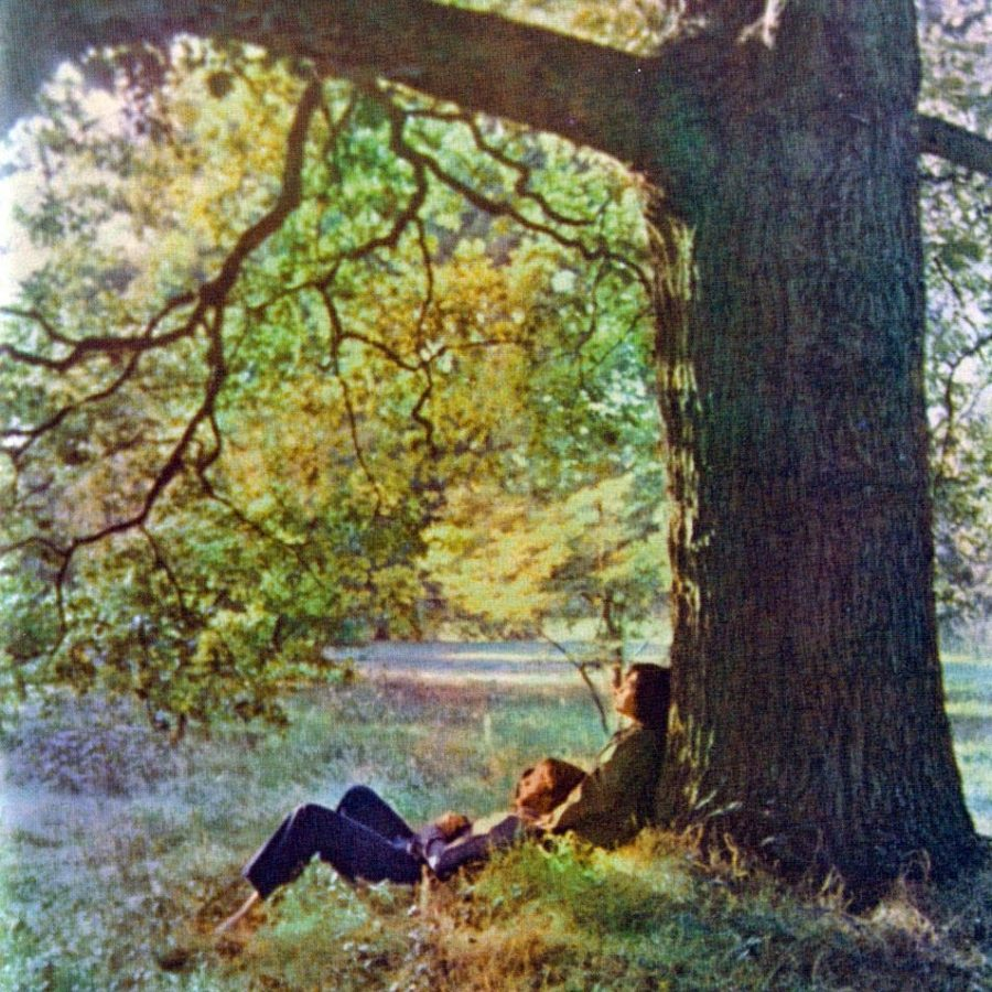 "Image Courtesy of John Lennon's first solo album ""Plastic Ono Band."""