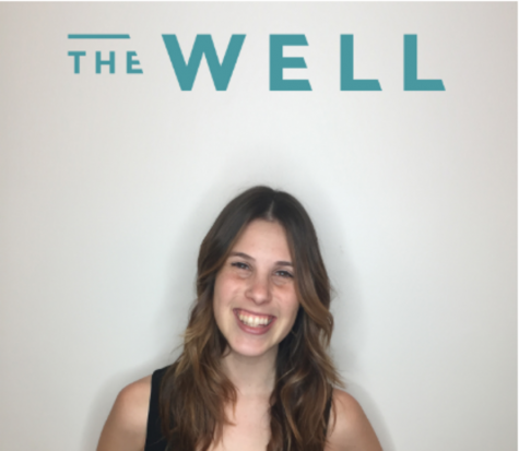 Rebecca Bean the Student Program Advisor, Student Health & The Well. Courtesy image from The Well.