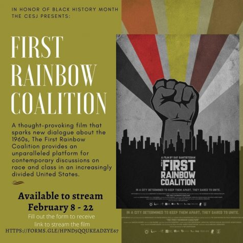 Courtesy image of the First Rainbow Coalition film poster from CESJ.