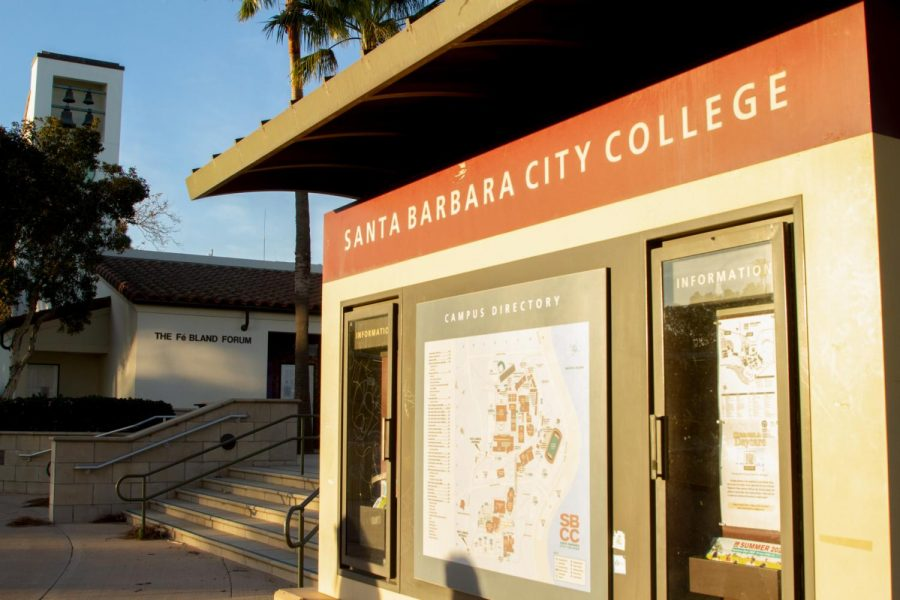 City Colleges West campus on Feb. 19, 2021 in Santa Barbara, Calif. City College has extended deadlines for FAFSA/Dream Act and scholarship applications to allow for more students to take advantage of these resources.