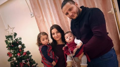 """Screengrab of Journalist Waad Al-Kateab and her family from the documentary she made for her daughter titled """"For Sama."""""""