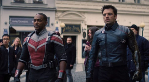 Screengrab of the newest addition for the Marvel Cinematic Universe on Disney+ The Falcon and the Winter Soldier.