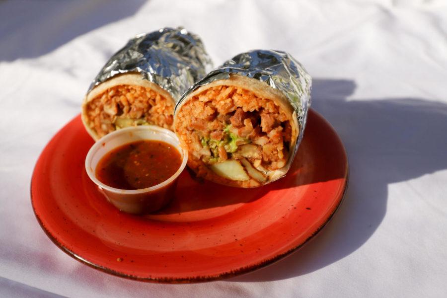 The Vegan Burrito from Super Cucas.