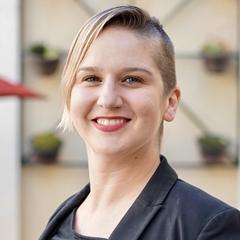 Raeanne Napoleon. Assistant Professor, Academic Senate President. Image Courtesy of SBCC.