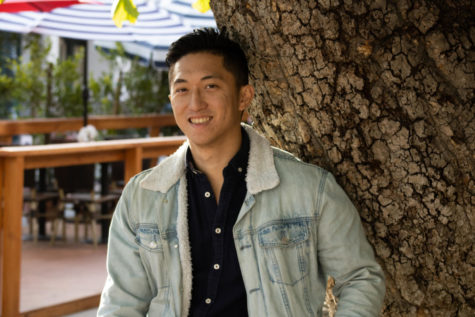 City College student and filmmaker Benny Chen on Monday, April 5 in Santa Barbara, Calif. Chen