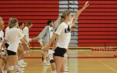Navigation to Story: Women's volleyball back on the court and bumped up to top 10