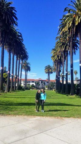 Courtesy image of Melissa Garcia and her mom Maria Chaidez on January 2020 on Cabrillo Blvd. in Santa Barbara, Calif.